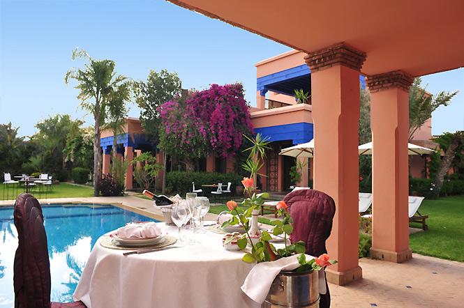 Red Sandstone Luxury Villa