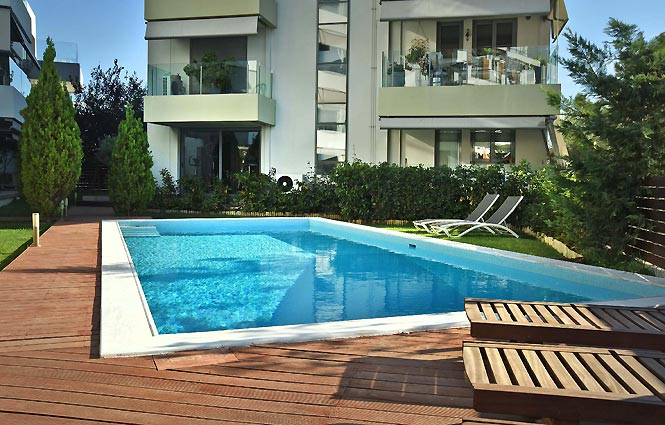 Alimos Pool Apartment
